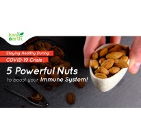 Staying Healthy During COVID-19 Crisis: 5 Powerful Nuts to Boost Your Immune System