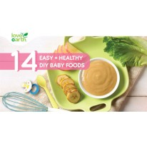 14 Easy + Healthy DIY Baby Foods