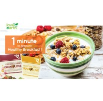 1 minute to prepare a healthy breakfast. (Chapter of Granola)