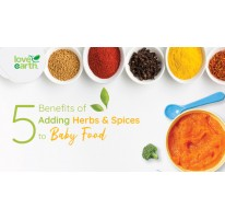 5 Benefits of Adding Herbs and Spices to Baby Foods