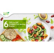 6 Tips to Eat Correctly During Puasa