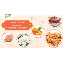 Calorie Guide for 5 Popular Chinese New Year Snacks