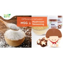 Differences Between MSG and Mushroom Seasoning