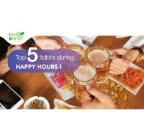 Top 5 Tidbits During Happy Hour!
