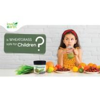 Is Wheatgrass Safe for Children?