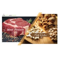 Meat Protein vs Nuts Protein