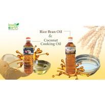 Rice Bran Oil vs Coconut Cooking Oil