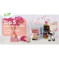 Top 5 Valentine's Day Gifts for the Health Conscious Couple