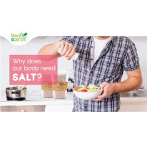 Why does our body need Salt?