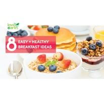 8 Easy + Healthy Breakfast Ideas!!