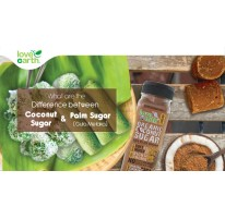 What are the Difference between Coconut Sugar & Melaka Sugar?