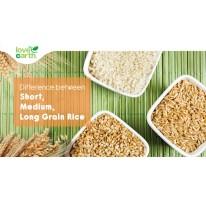 Difference between Short, Medium & Long Grain Rice
