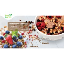 Difference Between Granola & Muesli