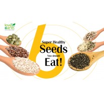 6 Super Healthy Seeds You Should Eat!