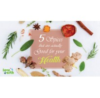5 Spices that are actually Good for your Health