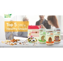 Top 5 Office Healthy Snacks