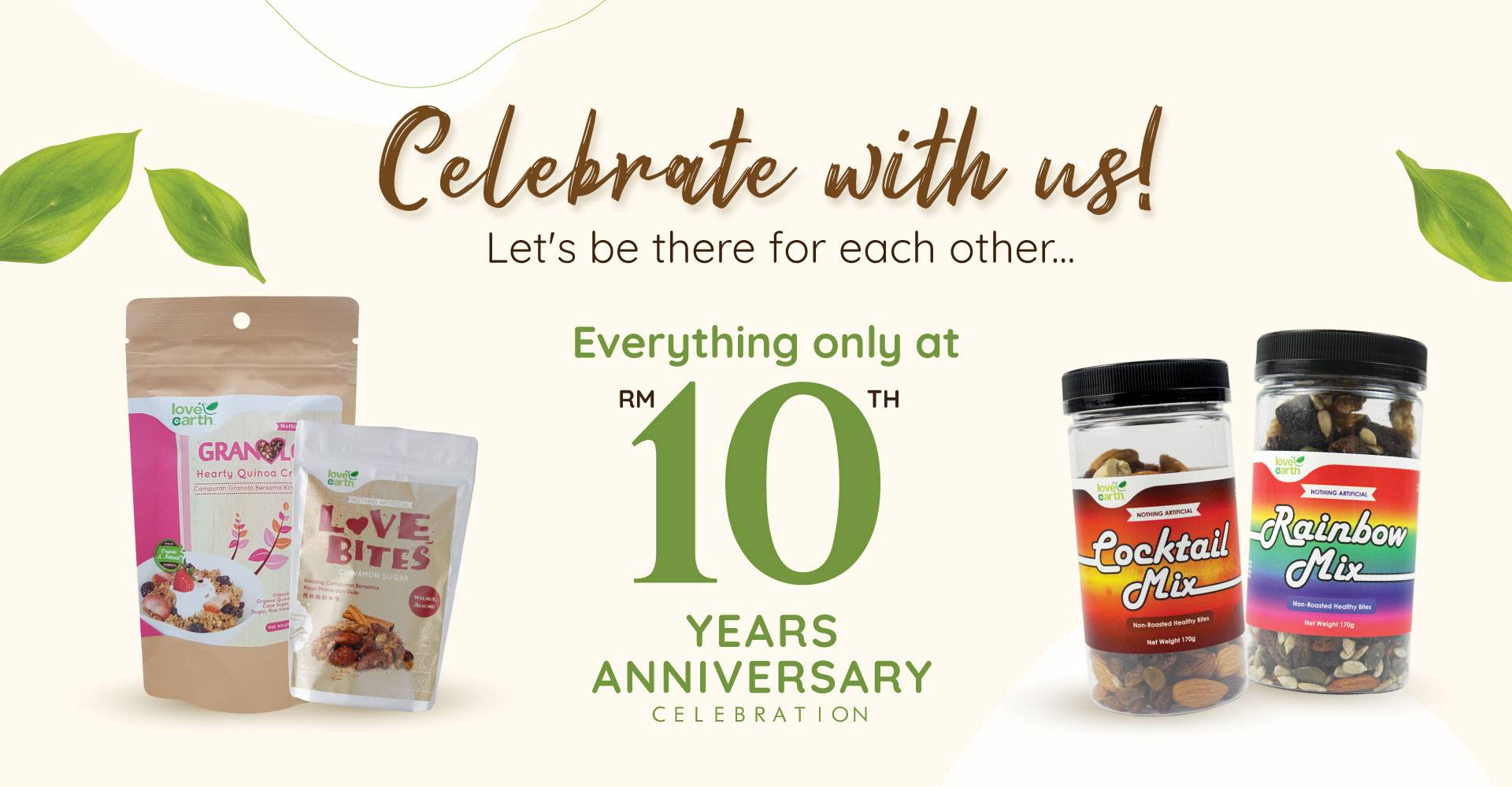 10th Anniversary Buy Everything at RM10