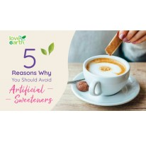 5 Reasons Why You Should Avoid Artificial Sweeteners