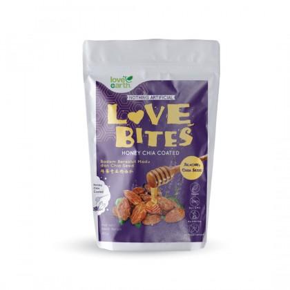 Love The Bites Honey Chia Coated Almond 40g
