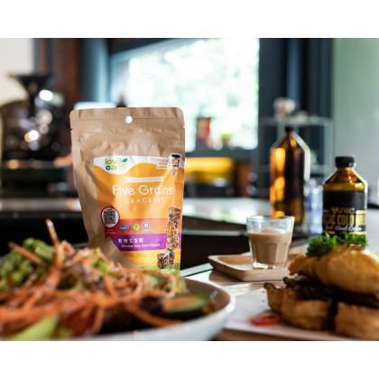 Organic Five Grain Cracker 100g (Buy 3 Free 3)