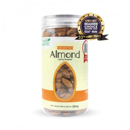 Lightly Roasted Almond 350g