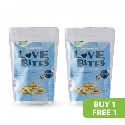 Love The Bites Lightly Salted Cashew 40g (Buy 1 Free 1)