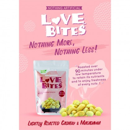 Love The Bites Lightly Roasted Cashew + Macadamia 40g