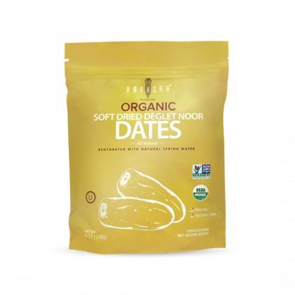 Amphora Organic Soft Dried Deglet Noor Dates 170g