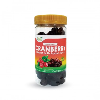 Organic Dried Cranberry 160g