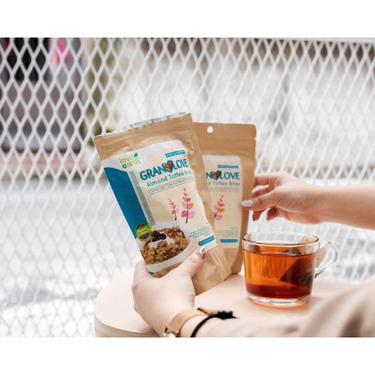 Granolove Almond Toffee Bites 80g