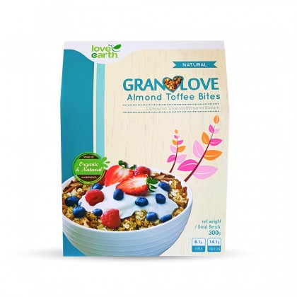 Granolove Almond Toffee Bites 300g