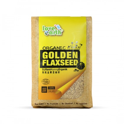 Organic Golden Flaxseed 400g