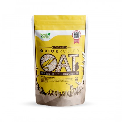 Organic Quick Rolled Oat 400g