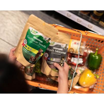 Organic Sunflower Seed Cracker 100g