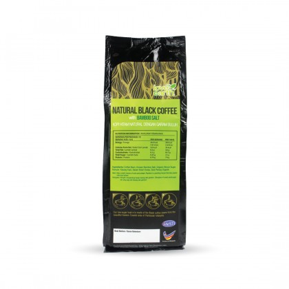 Black Coffee with Bamboo Salt 10g x15servings