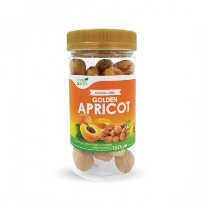 Organic Golden Apricot 160g