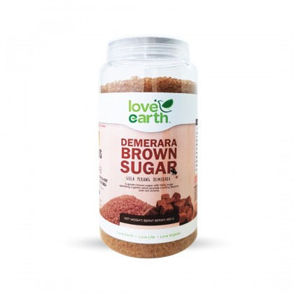 Demerara Brown Sugar 800g