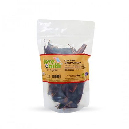 Organic Dried Chilies 80g