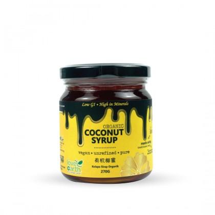 Organic Coconut Syrup 270g