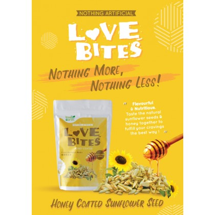 Love The Bites Honey Coated Sunflower Seed 40g