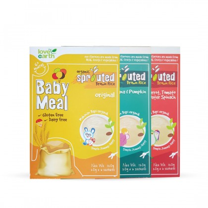 Organic Baby Meal (6 Sachet 120g)