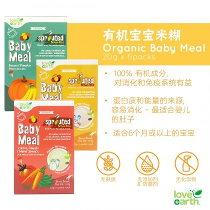 Organic Baby Meal (6 Sachet x 20g)