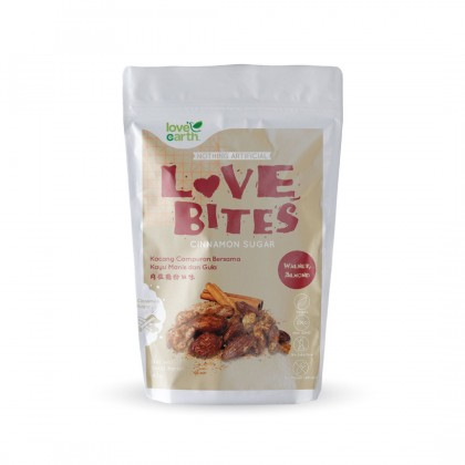 Love The Bites Cinnamon Sugar 40g