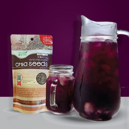 Organic Chia Seeds 202g x 3 (FOC 280g Bottle) Promo Pack