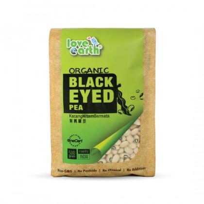 Organic Black Eyed Pea 500g