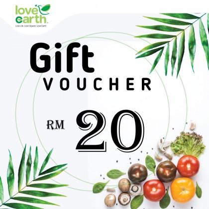 RM20 E-Gift Voucher
