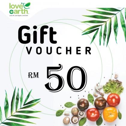 RM50 E-Gift Voucher
