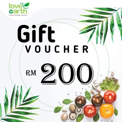 RM200 E-Gift Voucher