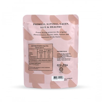 Osuda Freeze Dried Dragonfruits 20g