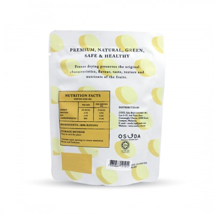 Osuda Freeze Dried Banana 20g